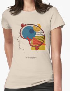 A Quick Thought. Womens Fitted T-Shirt