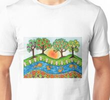 """Sunrise At The Orchard""  Unisex T-Shirt"