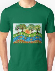 """""""Sunrise At The Orchard""""  T-Shirt"""