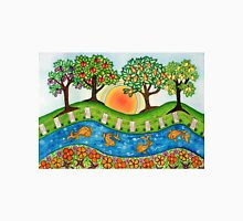 """Sunrise At The Orchard""  T-Shirt"