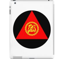 Mozambique Air Force - Roundel iPad Case/Skin