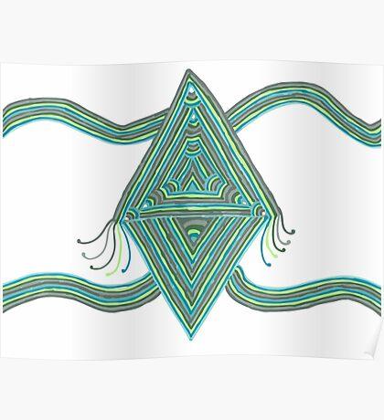Diamond Whimsy Poster