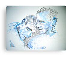 Masculine Love Canvas Print
