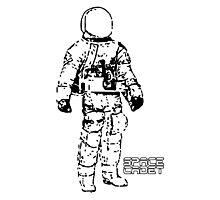 Minimalist Space Suit Photographic Print