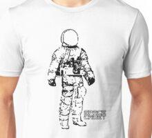 Minimalist Space Suit Unisex T-Shirt