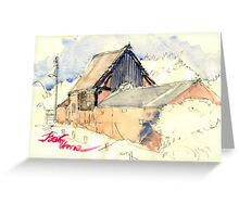 Edgmond Barn Greeting Card