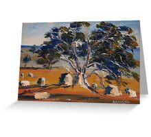 The old gum tree, Sutton Grange, Vic Australia Greeting Card
