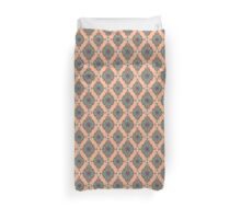 Vintage Moroccan Pattern in Peach Duvet Cover