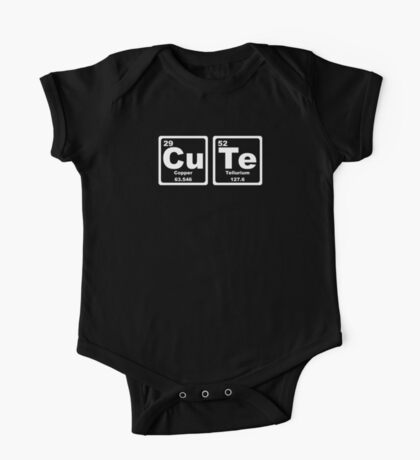 Cute - Periodic Table One Piece - Short Sleeve