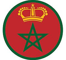 Royal Moroccan Air Force - Roundel Photographic Print
