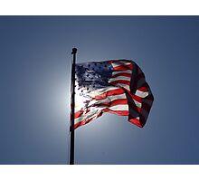 US Flag Photographic Print