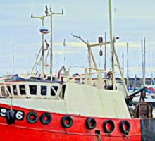 the harbor Sticker