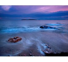 Winter sea Photographic Print