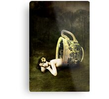 The teacup Metal Print
