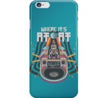 Where it's AT-AT iPhone Case/Skin