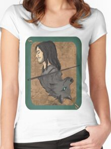 Sirius Black Playing Card Women's Fitted Scoop T-Shirt