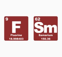 FSM - Periodic Table - Red & White by graphix