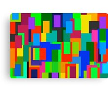 Canvas Colour Geometry Canvas Print