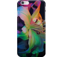 Rainbow Lilly-3 iPhone Case/Skin