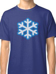 Snow snowflake Classic T-Shirt