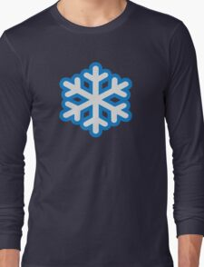 Snow snowflake Long Sleeve T-Shirt
