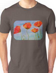 red amapola Unisex T-Shirt