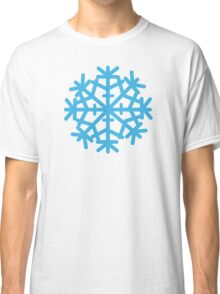 Blue ice snow Classic T-Shirt