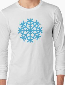 Blue ice snow Long Sleeve T-Shirt