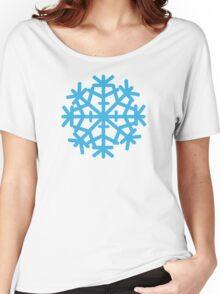 Blue ice snow Women's Relaxed Fit T-Shirt