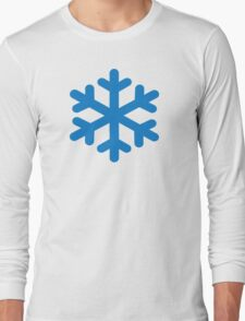 Blue snow Long Sleeve T-Shirt