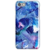Blue Brush iPhone Case/Skin