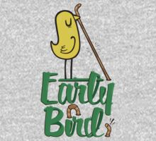 Early Bird Baby Tee