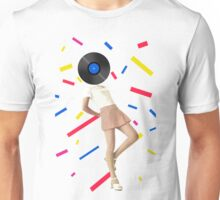 Color Chaos Collection -- The Party Never Ends Unisex T-Shirt