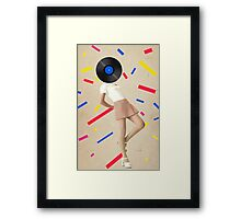 Color Chaos Collection -- The Party Never Ends Framed Print