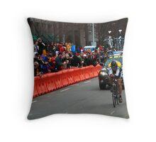 Lance Armstrong - Prolog Tour of California - Sacramento 2009 Throw Pillow