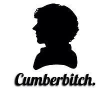 Cumberbitch silhouette design by Fandomsdepp