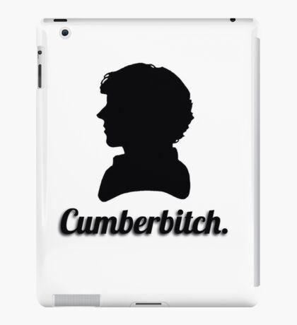 Cumberbitch silhouette design iPad Case/Skin