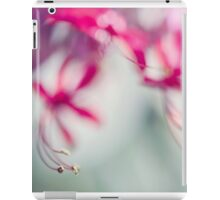 Grace. Natural Watercolor. Touch of Japanese Style iPad Case/Skin
