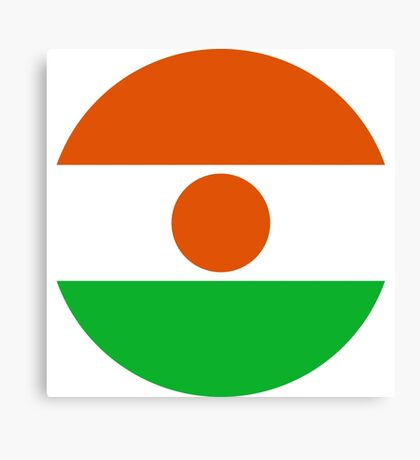 Niger Air Force - Roundel Canvas Print