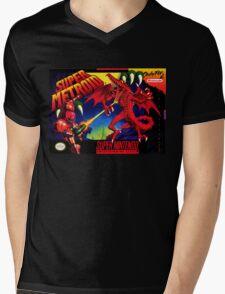 Super Metroid Mens V-Neck T-Shirt