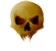 Skull by Parasaurolophus