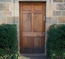 Door to... by Carl Eyre
