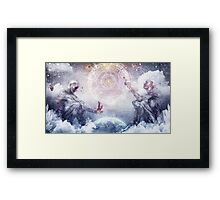 Awake In a Silver Land Framed Print