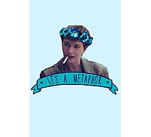 augustus waters - metaphor Photographic Print