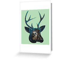 Night, Night Deer. Greeting Card