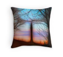 Wainhouse Tower - Abstract Throw Pillow