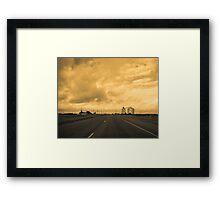 Storm Ahead Framed Print