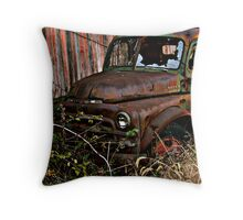 Old Truck Throw Pillow