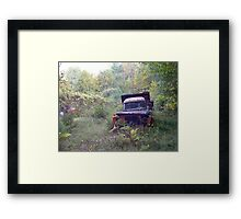 Rust and Remember 3 Framed Print