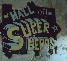 hall of super heros by Earhart Chappel Inc.   IPA